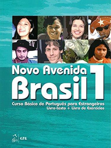 Novo Avenida Brasil A1: Kurs- und Übungsbuch + Audio-CD