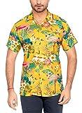CLUB CUBANA Hawaiiisch Drucken Herren Aloha Strand Hemd S