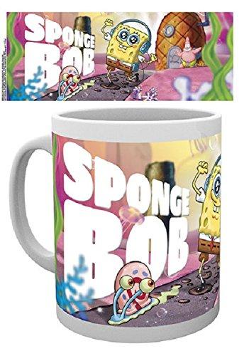 1art1 Spongebob Tasse Good, Keramik, Mehrfarbig, Einheitsgröße, 2