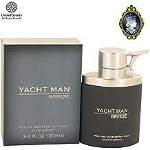 Myrurgia Yacht Man Breeze for Men 100ml/3.4oz Eau De Toilette EDT Cologne Spray