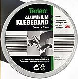 3M Aluminium-Klebeband 50 mm x 15 Meter - Aluband selbstklebend - silber