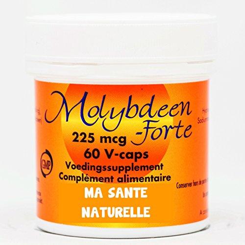 MOLYBDÈNE - FORTE (225 mcg) - 60 capsules végétales
