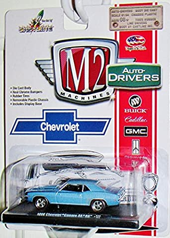 M2 MACHINES Auto-Drivers 1969 Chevrolet Camaro SS/RS Blue with Black