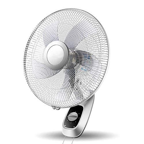 Chuan Han Ventilador Eléctrico Práctico, Ventilador Eléctrico de Pared Dormitorio Ventilador Silencioso...