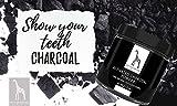 Aktivkohle Pulver von Mother Nature® – vegan – zur Zahnaufhellung & Zahnreinigung | 100% Natural Activated Charcoal Teeth Whitening Powder | für natürlich weiße Zähne - 3