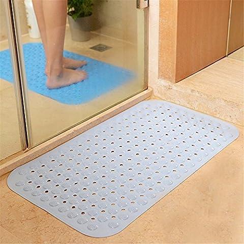 Salle de bain non-dérapant mat salle de bain baignoire bain douche matelas coussin pied avec ventouse mat-36 * 72