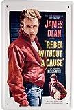 Plaque de James Dean Film 20x 30cm publicité Retro Tôle 936