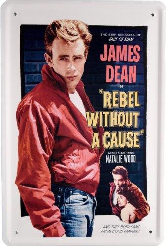 Blechschild James Dean Film 20 x 30cm Reklame Retro Blech 936