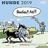 Hunde – Postkartenkalender 2019