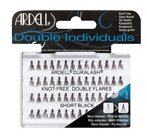 Ardell Double Individuals Faux-cils individuels sans nœuds Court