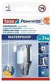 tesa Powerstrips Strips LARGE, wasserfest, Packung mit 6 Strips