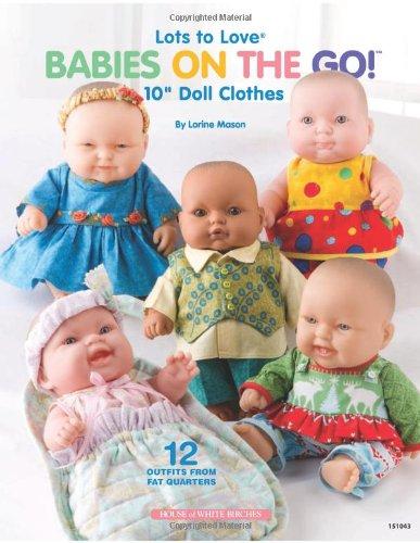 """Lots to Love (R) Babies on the Go!: 10"""" Doll Clothes,, usado segunda mano  Se entrega en toda España"""