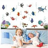 Cczxfcc Nemo Fisch Cartoon Wand Aufkleber Für Dusche Fliesen Aufkleber Im Badezimmer Für Kinder Kinder Baby Auf Bad