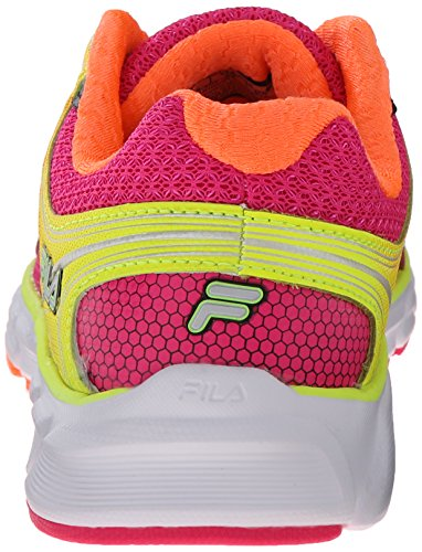 Fila mémoire Maranello 2 Chaussure de course Pink Glo/Shocking Orange/Safety Yellow