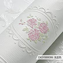 Jedfild Landhausstil Wohnzimmer Wand Papier Continental Vlies Tapete 3D Hintergrund Schlafzimmer Und Einladend