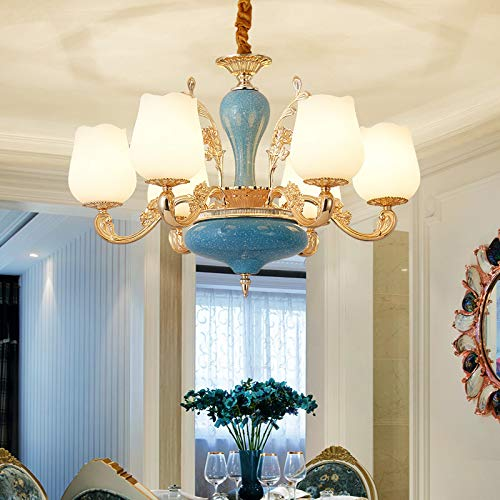 Wohnzimmer Kronleuchter moderne Schlafzimmer Hotelprojekt LED Kronleuchter Nordic Club Inn Villa Atmosph?re Kronleuchter 12 Kopf, um 5 Watt LED-Lampe zu senden -