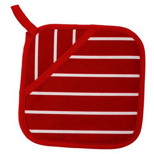Inconnu Classique de boucher à rayures 100% coton Pot d'appui – Parent