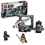 LEGO StarWars CannonedellaMorteNera con Minifigure di ObiWan-Kenobiedell'Artigliere della Morte NeraGioco con Cannoni a Molla, Collezione Una Nuova Speranza, per Bambini dai 7 Anni, 75246 LEGO