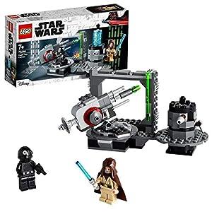 LEGO StarWars CannonedellaMorteNera con Minifigure di ObiWan-Kenobiedell'Artigliere della Morte NeraGioco con Cannoni a Molla, Collezione Una Nuova Speranza, per Bambini dai 7 Anni, 75246 5702016370720 LEGO