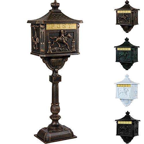 Standbriefkasten Antik in Bronze / In 4 Farben erhältlich thumbnail