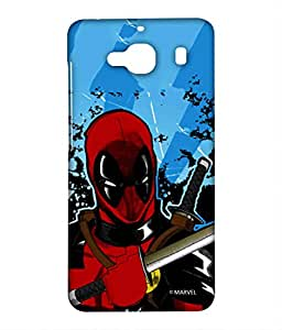 Block Print Company Deadpool Fury Phone Cover for Xiaomi Redmi 2