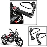 #9: Vheelocityin Motorcycle Bar End Mirror Rear View Mirror Edge For Bajaj V15