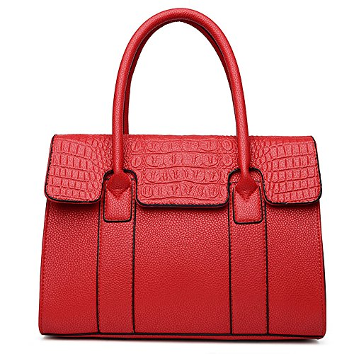 Anne, Borsa tote donna nero Red Red