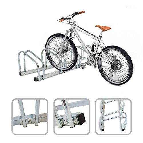 Todeco - Puesto de Bicicletas, Soporte para Aparcar Bicicletas - Tamaño: 132...