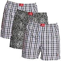 Jockey Boxer Shorts - Assorted Pack of 3 (Large)