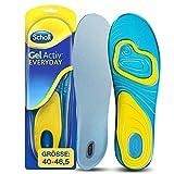 Scholl GelActiv Einlegesohlen Everyday für Freizeitschuhe von 40-46,5 - Verbesserter Komfort durch doppelte Polsterung - 1 Paar Gelsohlen