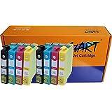 Start - 8 Cartouches d'encre compatibles avec Puce remplace Epson 29XL, T2991 XL Noir, T2992 XL Cyan (Bleu), T2993 XL Magenta (Rouge), T2994 XL Jaune pour Epson Expression Home XP-235 XP-332 XP-335 XP-432 XP-435