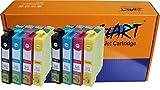 Start - 8 XL Cartouches d'encre compatibles avec Puce remplace Epson 29XL T2991 XL...