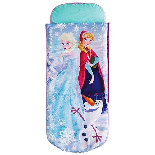 TW24 Kinder Gästebett - Disney Schlafsack - Kinderbett - Kinderschlafsack - Ready Bed mit Motivauswahl (Frozen)