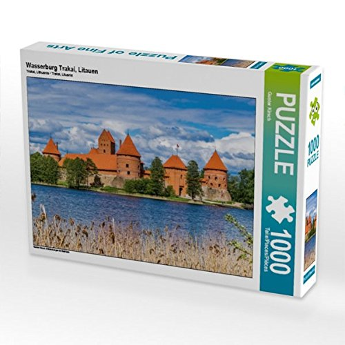 Wasserburg Trakai, Litauen 1000 Teile Puzzle quer: Entdeckungen im Baltikum (CALVENDO Orte)