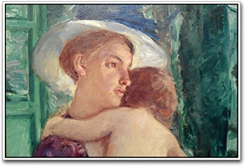 Athahdesigns Wall Poster Artistic Baby With Mother  available at amazon for Rs.199