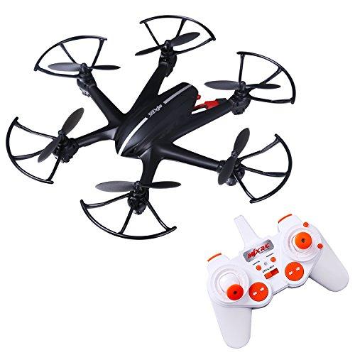 CAHAYA Dron WIFI compatible con FPV, Cuadricóptero de 6 Ejes y 2.4GHz con Giroscopio Inteligente (MJX X800)