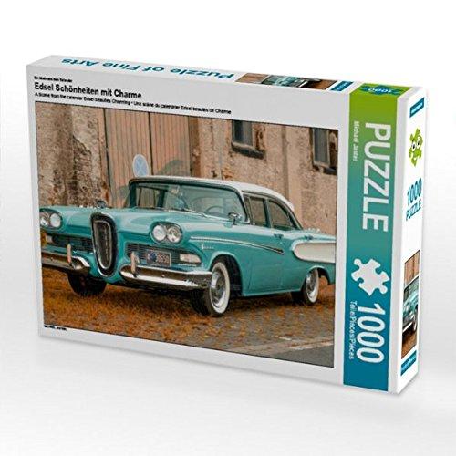 Ein Motiv aus dem Kalender Edsel Schönheiten mit Charme 1000 Teile Puzzle quer - 60er Jahre Pastell
