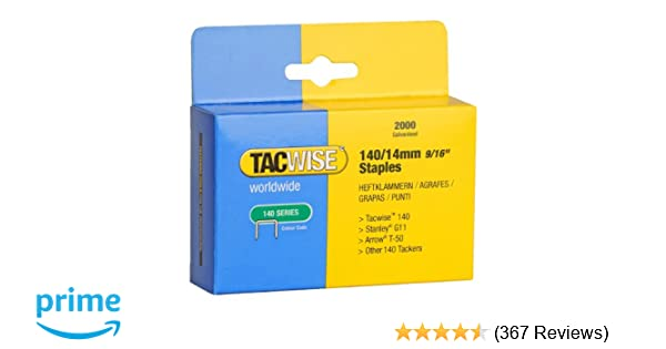 Tacwise 8mm Type 140 Series Staples Fit For the Z3-140//Z3-140L//140EL Stapler