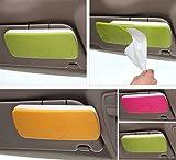 #8: LUKZER Sun-Visor Car Tissue Box Holder 1 Pc, Multi Color