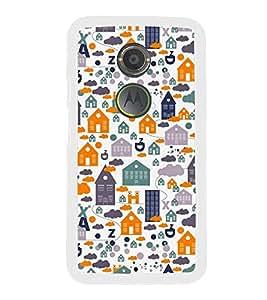 Fuson Home Ghar House Pattern Designer Back Case Cover for Motorola Moto X2 :: Motorola Moto X (2nd Gen) (Ethnic Pattern Patterns Floral Decorative Abstact Love Lovely Beauty)