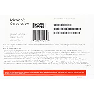 51OPmhBZ9LL. SS300  - MS Windows 10 Pro 32bit DVD OEM (DE)