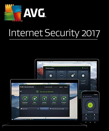 AVG Internet Security 2017 1 User 1 Year - OEM Test