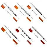 SFM ® Insulinspritzen : 0,5ml - 1ml / U40 - U100 / 29G - 30G Einwegspritzen Einmalspritzen 1ml U-40 30G (100)