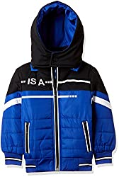 Fort Collins Boys Regular Fit Synthetic Jacket (14621_Royal Blue_20 (2 - 3 years))