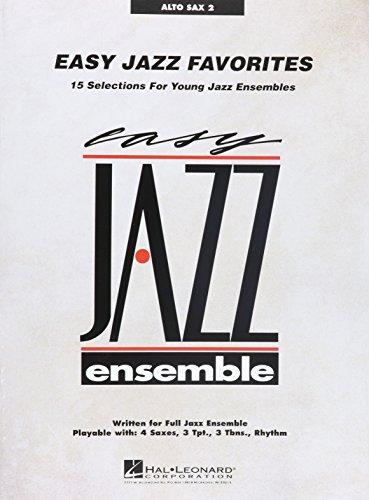 Easy jazz favorites - alto sax 2 saxophone (Easy Jazz Ensemble)