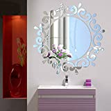 Best Decals for the Wall Mirrors - Bluelans® 3D Morden Feather Mirror Wall Sticker Home Review