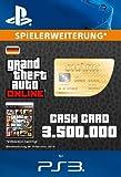 Grand Theft Auto Online | GTA V Whale Shark Cash Card | 3,500,000 GTA-Dollars | PS3 Download Code - deutsches Konto