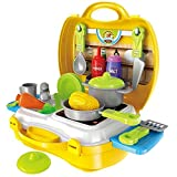 Popsugar 26 Pieces Kids Play Kitchen Set