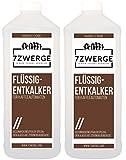 7Zwerge Flüssig-Entkalker für Kaffeevollautomaten Universal Kalk-Entferner (2 x 1000 ml)