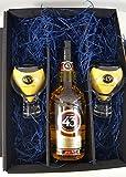Licor 43 Set / Geschenkset - Licor 43 Liqueur 0,7L (31% Vol) + 2x Gläser